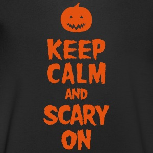 Keep Calm And Scary On T-Shirts - Männer T-Shirt mit V-Ausschnitt