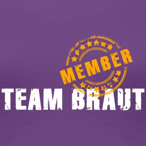 Team Braut Member JGA Bräutigam Hochzeit Stempel