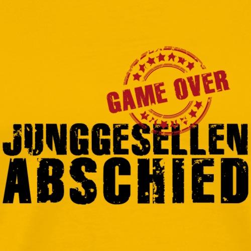 Junggesellenabschied JGA game over Polterabend
