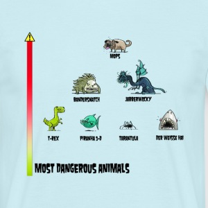 Most Dangerous Animals T-Shirts - Männer T-Shirt