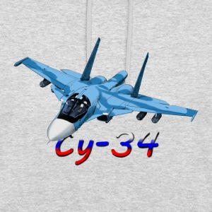 Sukhoi Su-34 Sweat-shirts - Sweat-shirt à capuche unisexe