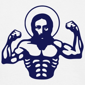 Muscle Jesus T-Shirts - Men's T-Shirt