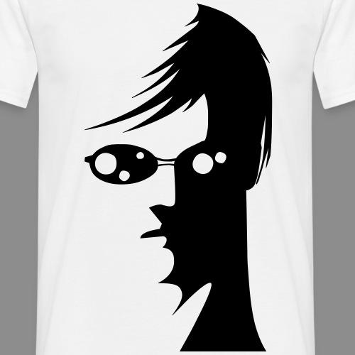 Cara con gafas