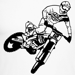 Motocross - Supercross Manches longues - T-shirt baseball manches longues Homme