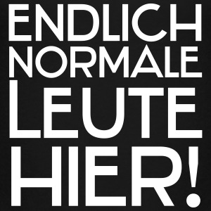 Endlich normale Leute hier! T-Shirts - Teenager Premium T-Shirt