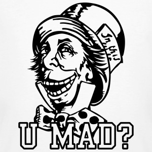 u mad hatter T-Shirts - Men's Organic T-shirt