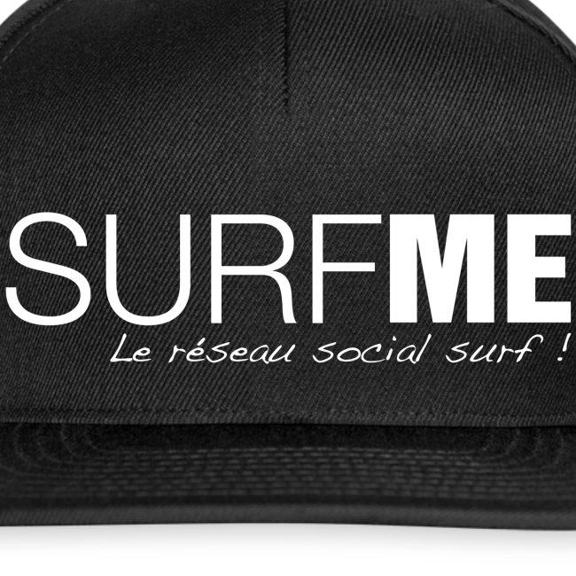 casquette surfme black