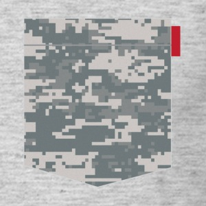Digital Camo Pocket Patch T-Shirts - Men's T-Shirt