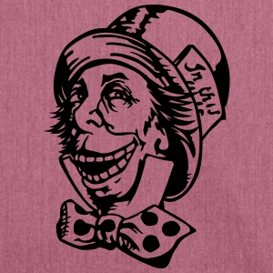 Mad hatter troll face Bags & Backpacks - Shoulder Bag made from recycled material