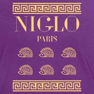 niglo v or .png Tee shirts - T-shirt contraste Femme