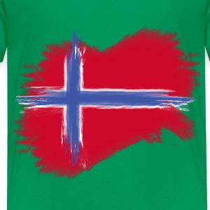 norwegen flagge norway  T-Shirts - Kinder Premium T-Shirt