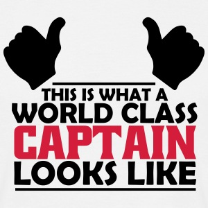 world class captain T-Shirts - Men's T-Shirt