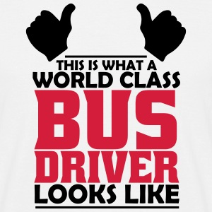 world class bus driver T-Shirts - Men's T-Shirt
