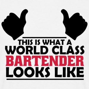 world class bartender T-Shirts - Men's T-Shirt