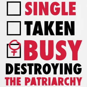 SINGLE / FORGIVENESS / DESTROYED THE FEMINISTS Fartuchy - Fartuch kuchenny