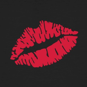 Kiss lips T-Shirts - Men's Organic T-shirt