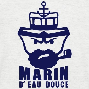 marin eau douce citation personnage Tee shirts - T-shirt Homme col V