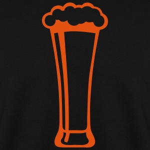 Beer glass alcohol foam 2809 Hoodies & Sweatshirts - Men's Sweatshirt