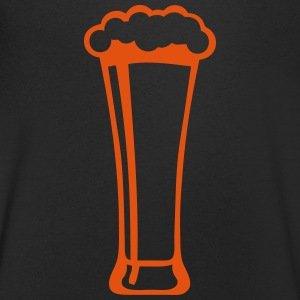 Beer glass alcohol foam 2809 T-Shirts - Men's V-Neck T-Shirt