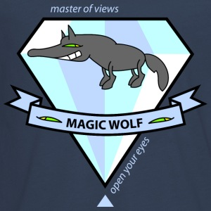 Magic Wolf Langarmshirts - Teenager Premium Langarmshirt