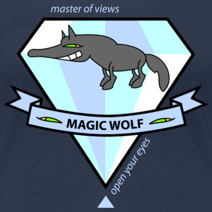 Magic Wolf T-shirts - Dame premium T-shirt