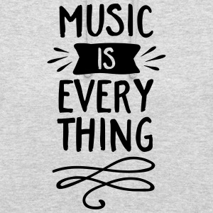 Music Is Everything Pullover & Hoodies - Unisex Hoodie