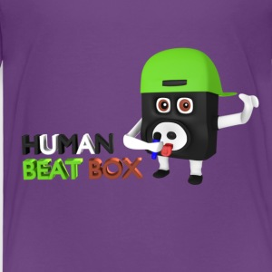 Human beat box  T-Shirts - Kinder Premium T-Shirt