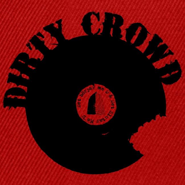 DIRTY CROWD CAP blackprint