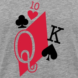 playing cards T-Shirts - Men's Premium T-Shirt