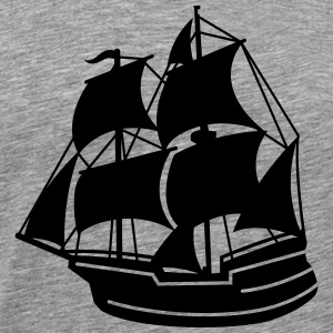 pirate ship T-Shirts - Men's Premium T-Shirt