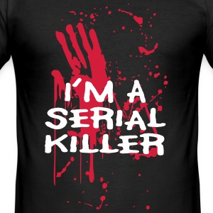 Serien Killer - Männer Slim Fit T-Shirt