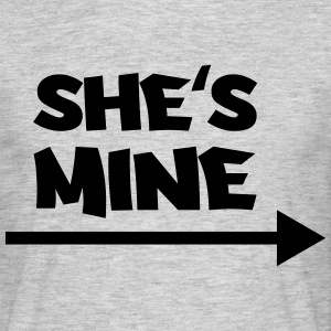 She's mine Tee shirts - T-shirt Homme