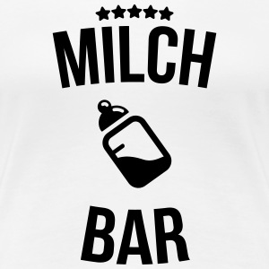 Milk bar T-shirts - Dame premium T-shirt