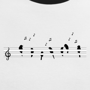 music - Frauen Kontrast-T-Shirt