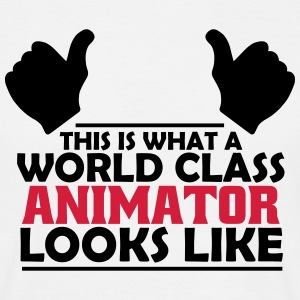 world class animator T-Shirts - Men's T-Shirt