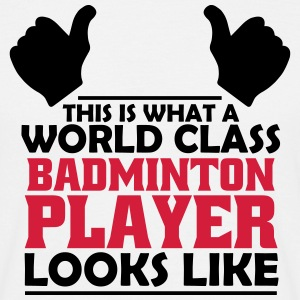 world class badminton player T-Shirts - Men's T-Shirt