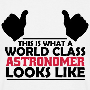 world class astronomer T-Shirts - Men's T-Shirt