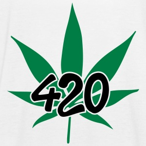 420 with leaf Tops - Frauen Tank Top von Bella