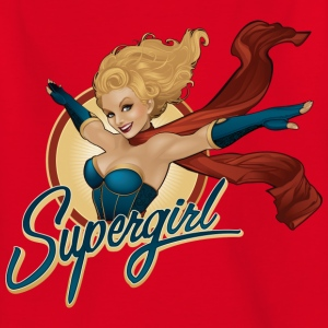 Bombshells Supergirl Portrait teenager T-shirt - Teenager-T-shirt