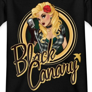 Bombschells Black Canary Portrait teenager T-shirt - Teenager-T-shirt