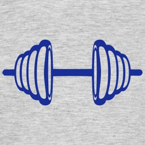 Dumbbell bodybuilding weight 2309 T-Shirts - Men's T-Shirt