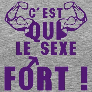 sexe fort bras muscle symbol homme Tee shirts - T-shirt Premium Homme