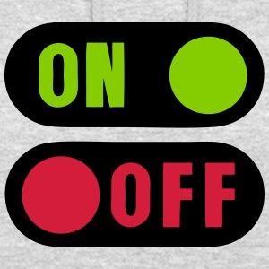 Button on off 12 Hoodies & Sweatshirts - Unisex Hoodie