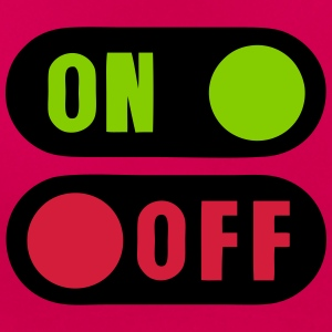 Button on off 12 T-Shirts - Women's T-Shirt