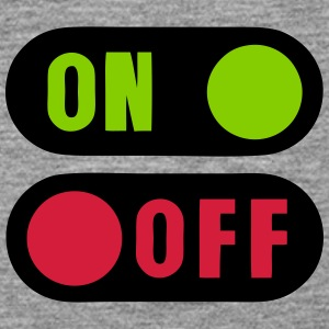 Button on off 12 Tops - Women's Premium Tank Top