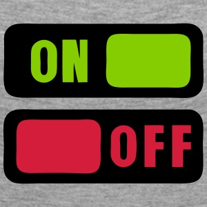 Button on off 1 Long Sleeve Shirts - Women's Premium Longsleeve Shirt