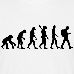 Evolution Geocaching T-Shirts - Männer T-Shirt