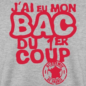 bac diplome 1er coup academie france Sweat-shirts - Sweat-shirt Homme