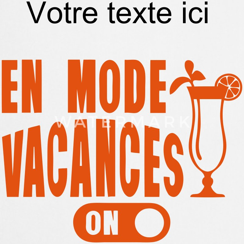 tablier en mode vacances cocktail humour spreadshirt. Black Bedroom Furniture Sets. Home Design Ideas
