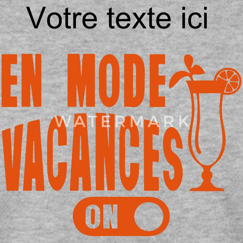 en mode vacances cocktail humour Sweat-shirts - Sweat-shirt Homme